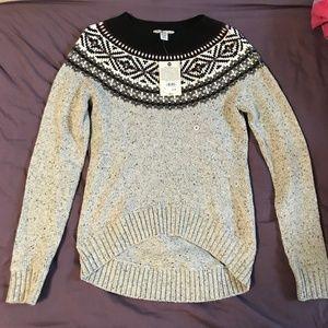 NWT Bass Sweater